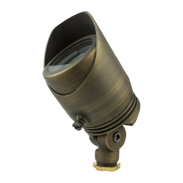 Volt All Star Cast Brass Spotlight (Antique Bronze Finish)